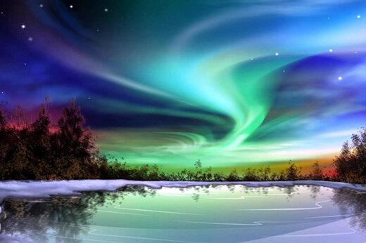 ببینید   تصاویر زیبا از شفق قطبی در آلاسکا