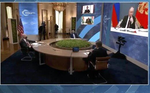 حاشیههای پوتین و بایدن در نشست آب و هوایی