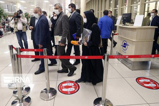 Iran bans flights to India, Pakistan
