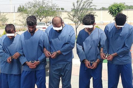 ببینید | از نظافتچی تا رئیس؛ دستگیری باندی از سارقان مسلح تهران