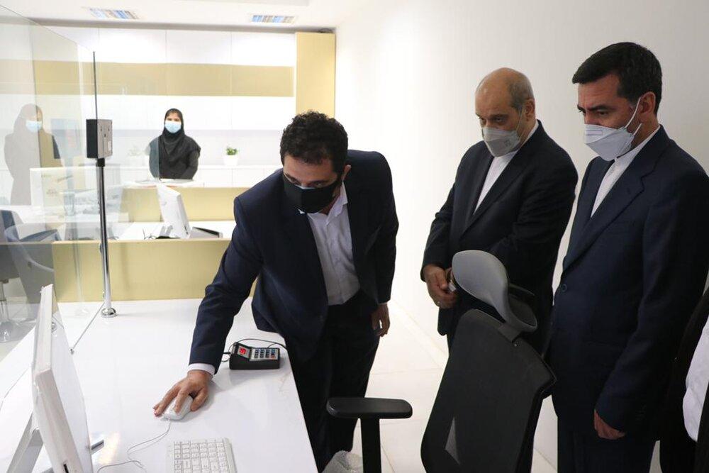 میز خدمات الکترونیک سازمان منطقه آزاد قشم افتتاح شد