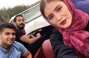 عکس | فوری؛ نوید محمدزاده و فرشته حسینی ازدواج کردند