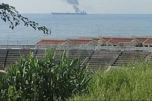 حمله نظامی به یک نفتکش در بندر بانیاس سوریه تکذیب شد