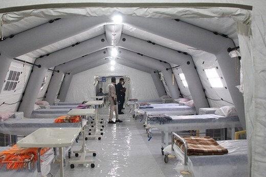 ببینید | راهاندازی بیمارستان صحرایی بزرگ ارتش در اصفهان