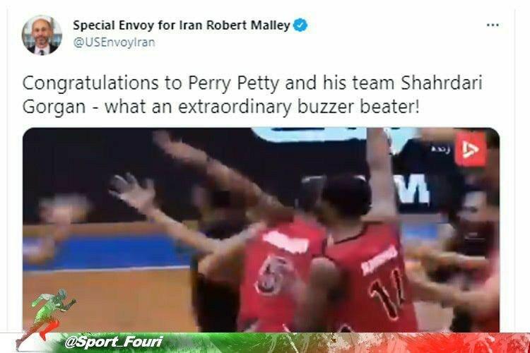 واکنش یک آمریکایی به اتفاق شگفتانگیز در لیگ بسکتبال