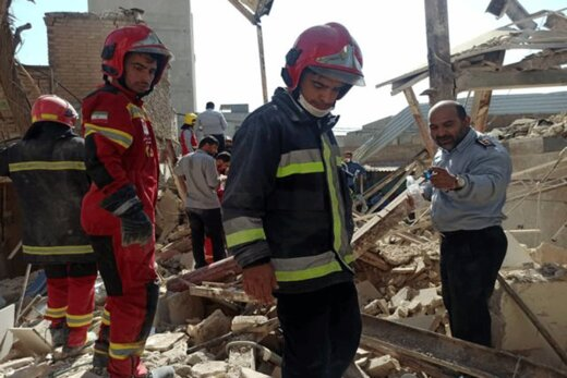 ببینید | انفجار مهیب در شهرک ولیعصر تهران
