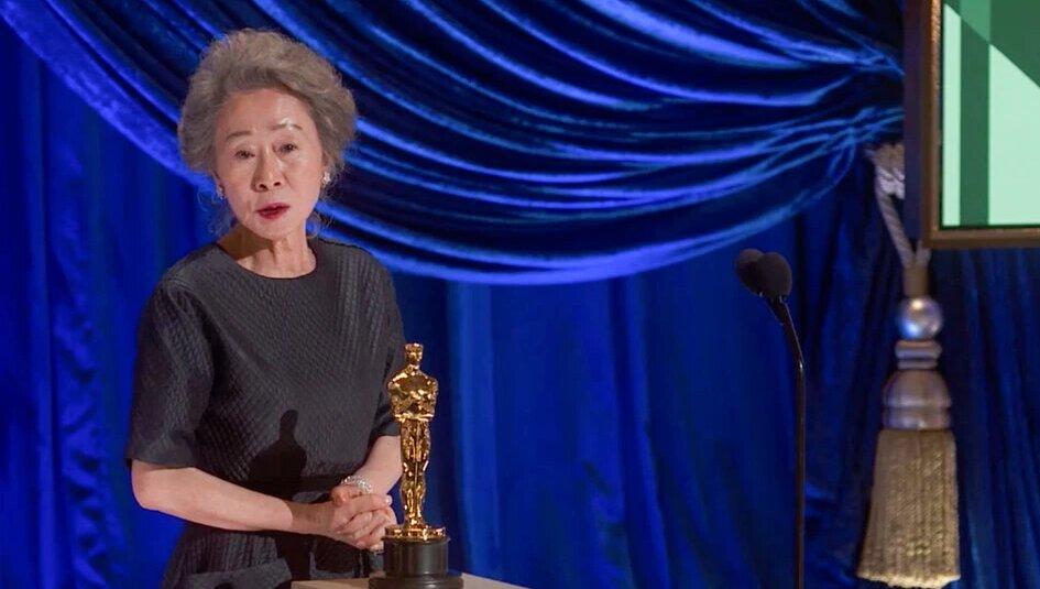 عکس | نخستین بازیگر کرهای که اسکار گرفت