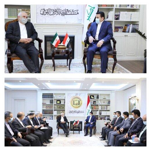 ظریف با مشاور امنیت ملی عراق دیدار کرد