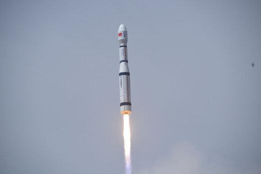 چین با یک موشک ۹ ماهواره را به فضا فرستاد