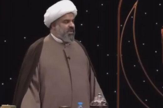 ببینید | ابراز علاقه ویژه روحانی معروف به «کشتی کج» در برنامه زنده