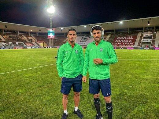 ببینید   مشاجره لفظی علیپور و عابدزاده در زمین فوتبال!