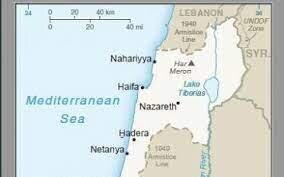 رژیم صهیونیستی از نقشه محل مورد مناقشه با لبنان رونمایی کرد/عکس