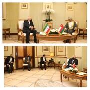 ظريف يؤكد على تنفيذ قرارات لجنة التعاون المشتركة بين طهران ومسقط
