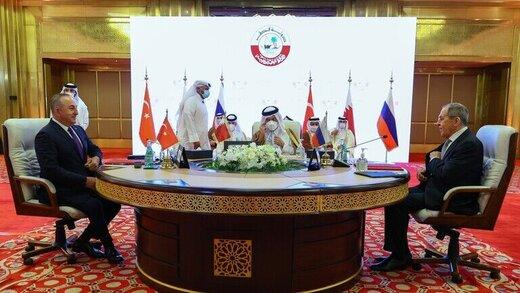 دوحه: نشست ترکیه،روسیه و قطر به معنای حذف ایران از سوریه نیست