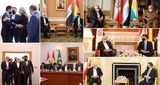 ظریف عراق را به مقصد عمان ترک کرد