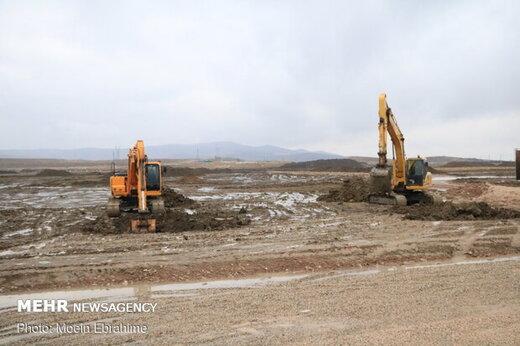 عملیات احداث بزرگترین پروژه تولید مسکن کشور در بندرعباس آغاز شد