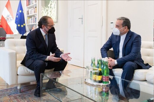 دیدار عراقچی با وزیر خارجه اتریش