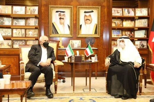 وزیران خارجه ایران و کویت دیدار کردند