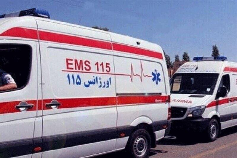 مصدوم و همراهانش، کارشناسان اورژانس قزوین را کتک زدند/ عکس