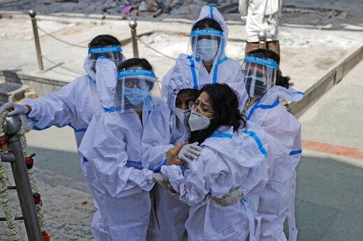 ببینید | روایتی وحشتناک از بیمارستان دهلی در روزهای سخت کرونایی