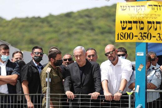 ببینید | سردادن شعار علیه نتانیاهو مقابل چشمان نخست وزیر رژیم صهیونیستی!