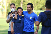 فرهاد مجیدی:قایدی دربیباز ترین بازیکن استقلال است