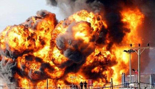 آتش سوزی در پالایشگاه نفت اسرائیل