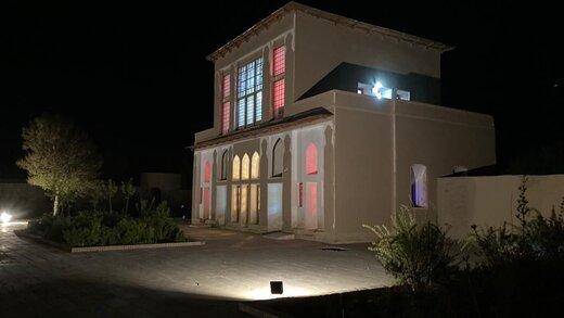 اتمام پروژه ساماندهی تأسیسات برقی و نورپردازی مجموعه چشمهعلی دامغان