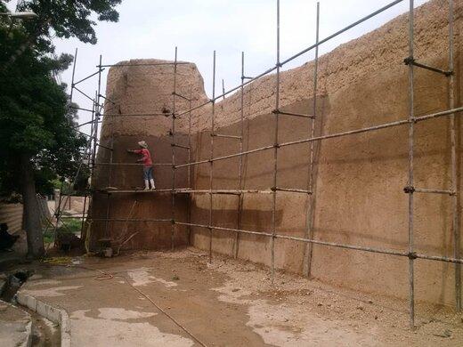 مرمت برج و باروی تاریخی شاهرود آغاز شد