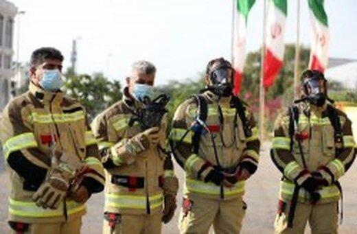 جزیره کیش پیشگام تجهیز آتش نشانان به بهترین تجهیزات حفاظت