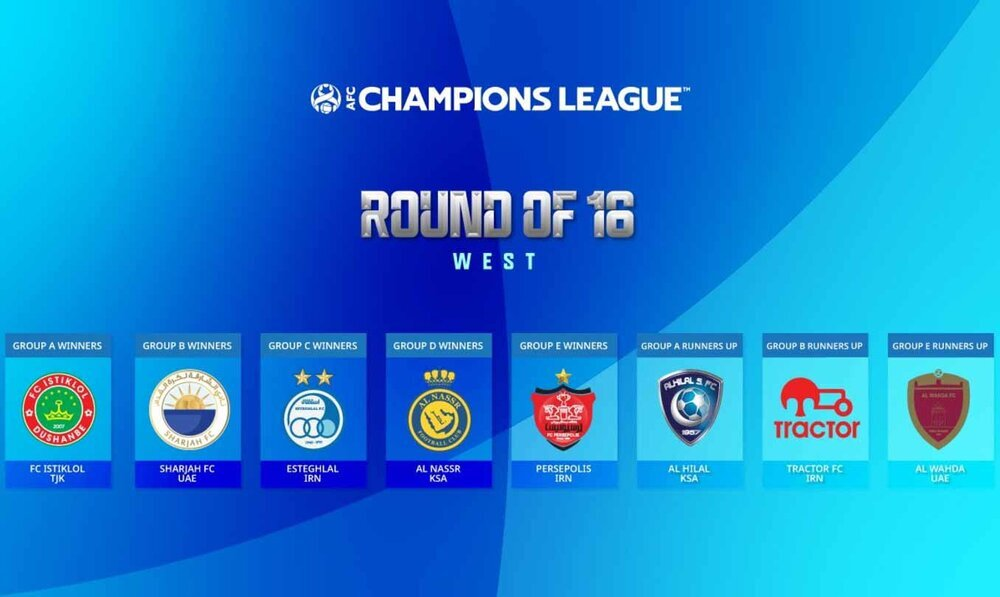 Three Iranian teams learn fate at 2021 ACL (West) Round of 16