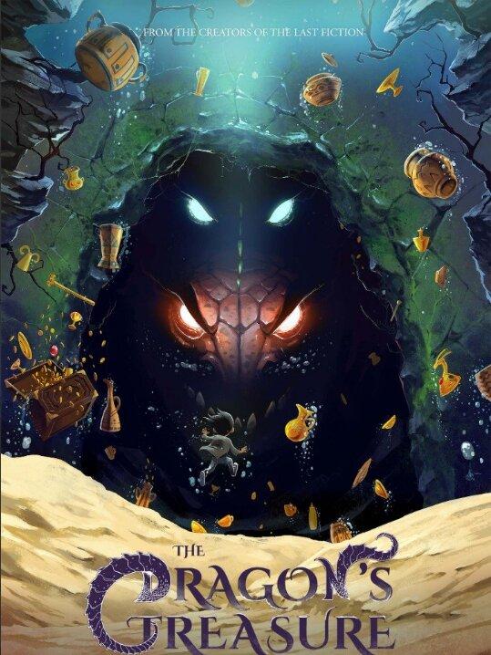 عکس   پوستر انگلیسی «گنج اژدها» را ببینید