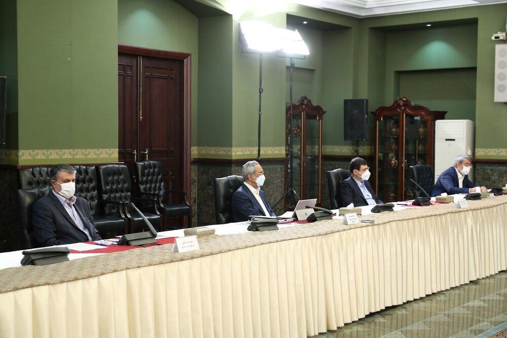 تصویری از اولین حضور عمومی وزیر کشور پس از رهایی از کرونا