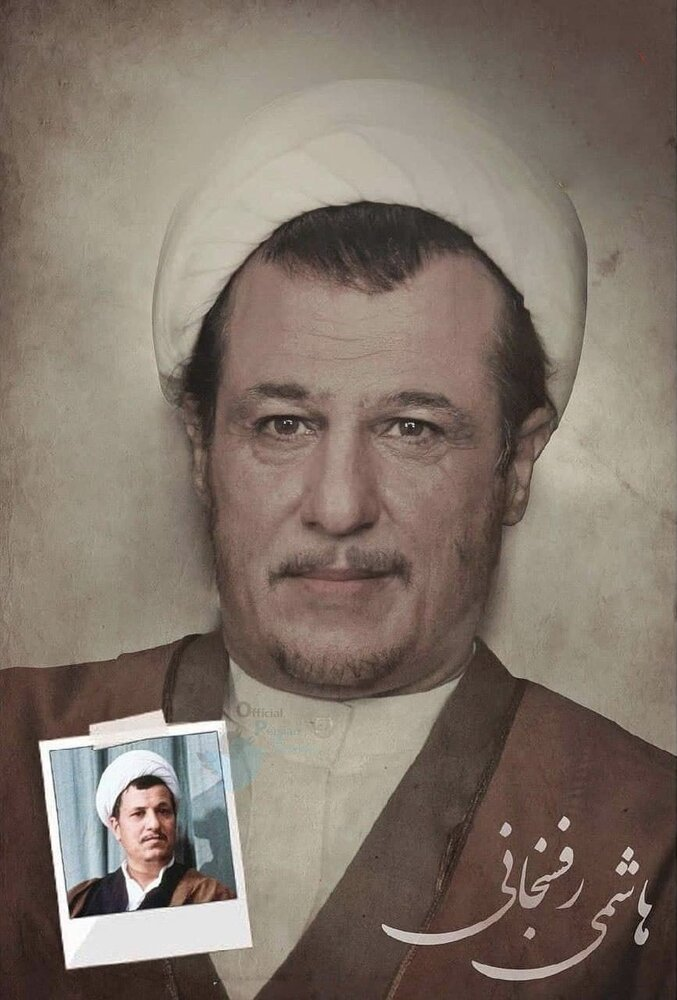 عکس | گریم جالب رامین راستاد برای انقش مرحوم هاشمی رفسنجانی