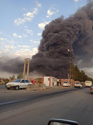 آخرین جزییات از آتش سوزی در قم/ تعداد مصدومان