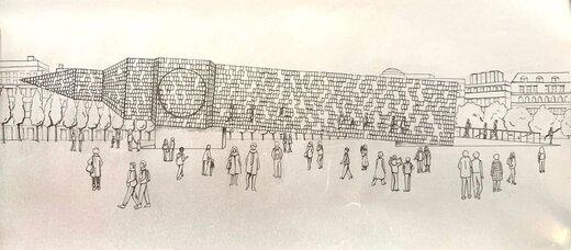 هنرمند آرژانتینی برج ساعت «بیگ بن» را واژگون کرد
