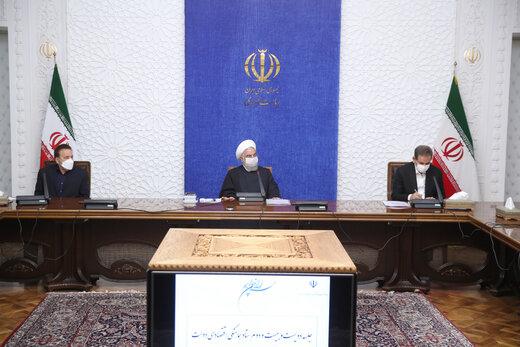 الرئيس روحاني : توفير لقاحات كورونا من أولويات برامج الحكومة