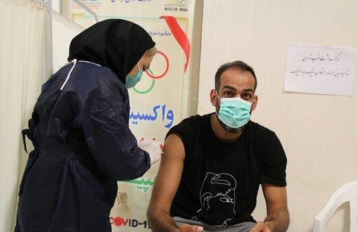 مرحله دوم واکسیناسیون ورزشکاران انجام شد/عکس