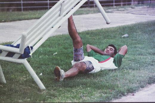 وقتی عابدزاده نفر اول تیمملی بود/عکس