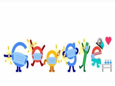 درخواست جالب توجه گوگل؛ واکسن و ماسک بزنید/ عکس