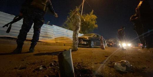حمله راکتی به محل استقرار نظامیان آمریکایی در بغداد