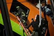 ببینید | لحظهای از سقوط  مرگبار قطار در مکزیک
