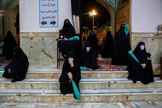 احیای شب بیست و یکم رمضان - تهران