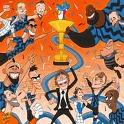 خوشحالی آبیها از کسب جام قهرمانی را ببینید!
