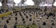 گزارشی از نوای دلنشین مناجات در حرم امام رضا(ع) تا خانه های شیعیان