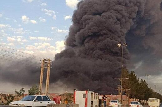 ببینید | بررسی جزئیات حادثه آتشسوزی در شهرک شکوهیه