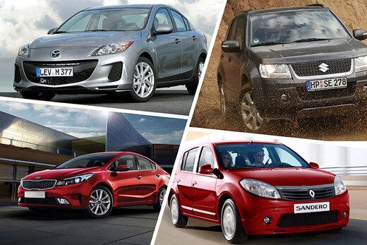 بهترین خودروهای ۵۰۰ میلیونی ازنظر مشخصات + جدول قیمت روز