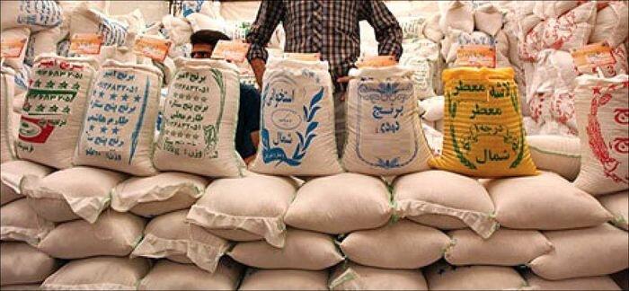 برنج بورسی گران از آب در آمد
