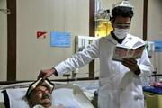 نظر شما درباره این عکس چیست؟/ مراسم شب قدر در بیمارستان