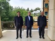 جلسه انتخاباتی محسن رضایی، رستم قاسمی و سعید محمد +عکس